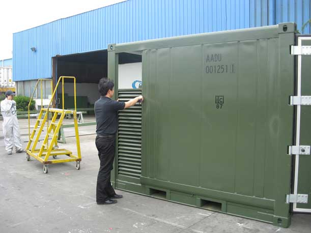 Quality Control Inspection for container