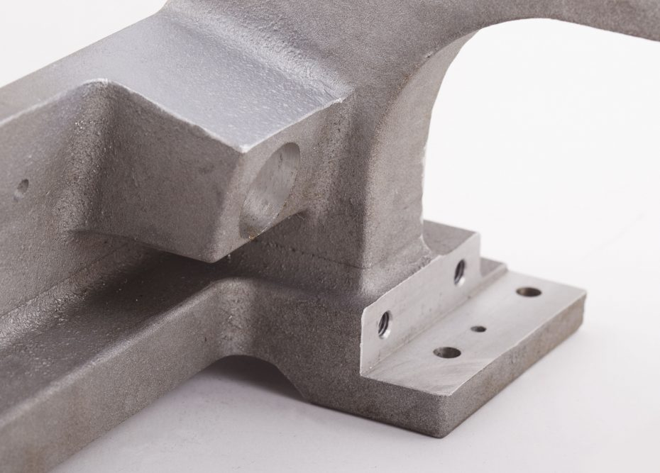 Alu sand casting support