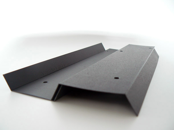 Cutting and bending of isolation sheets