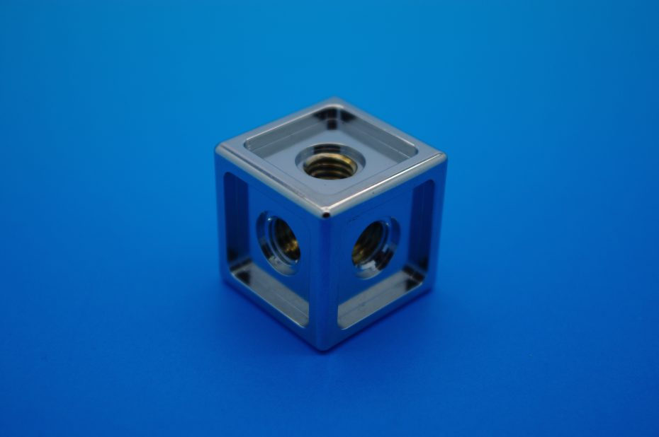 cube machined in China
