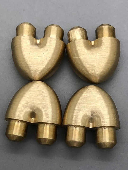 custom brass component machining