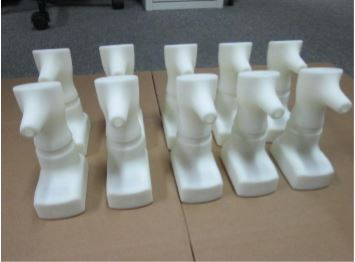 Medical 3D injection plastic parts