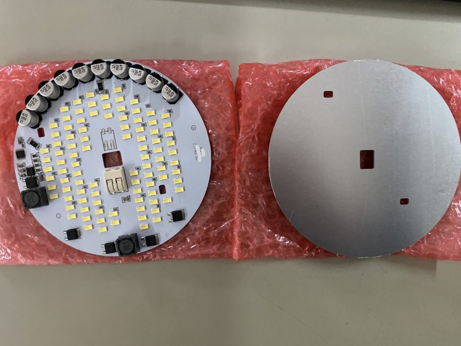 custom LED electronic assembly on aluminium board