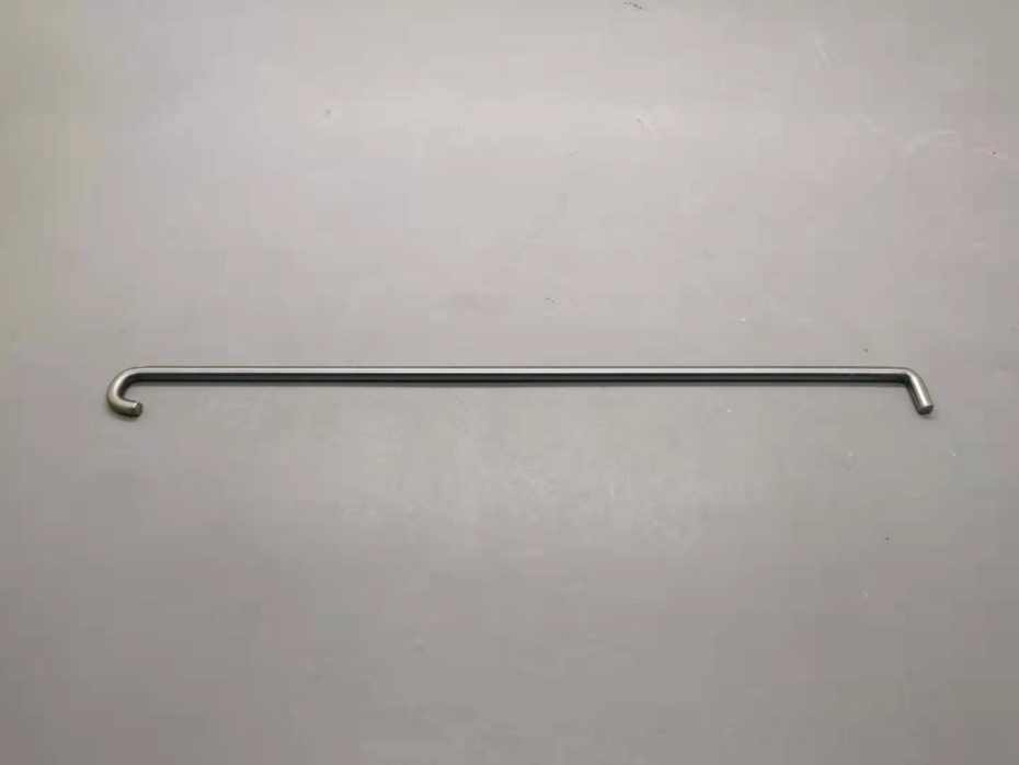 On-demand 5mm SS rod bended according to customer drawings.